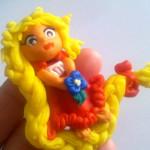Złotowłosa księżniczka z modeliny