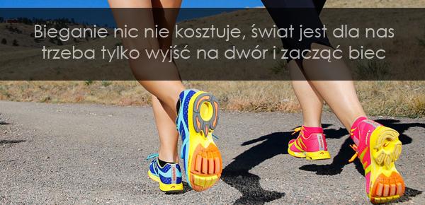Bieganie nic nie kosztuje