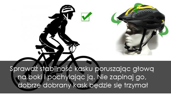 Dobieranie kasku na rower