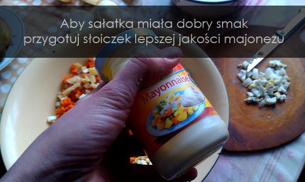 Sałatka majonez