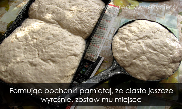 bochenki chlebowe formowanie