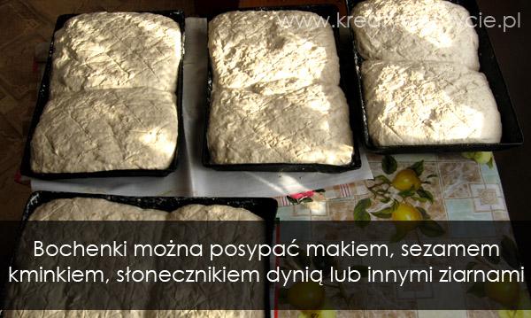 Bochenki ciasta chlebowego