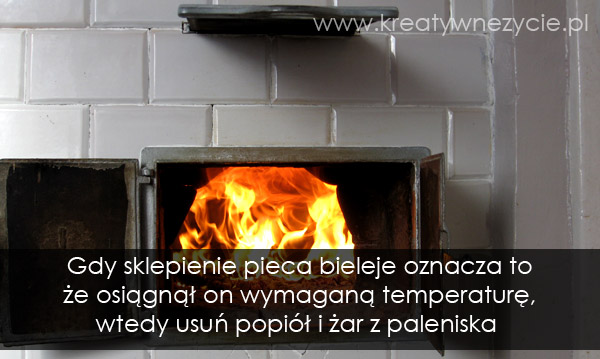 Temperatura pieczenia chleba