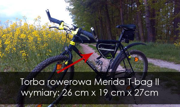Torba Merida T-bag II wymiary
