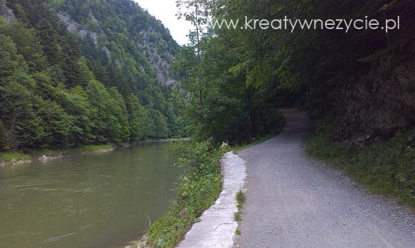 Ścieżka rowerowa nad Dunajcem