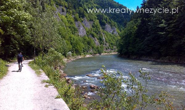 Rowerowy szlak w Pieninach