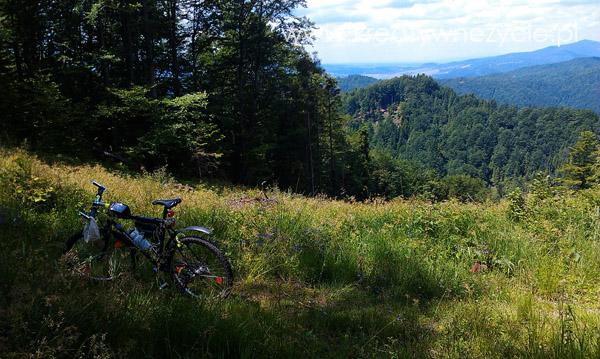 Szczyt na rowerze