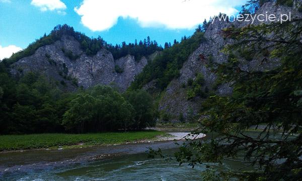 Widok na Dunajec