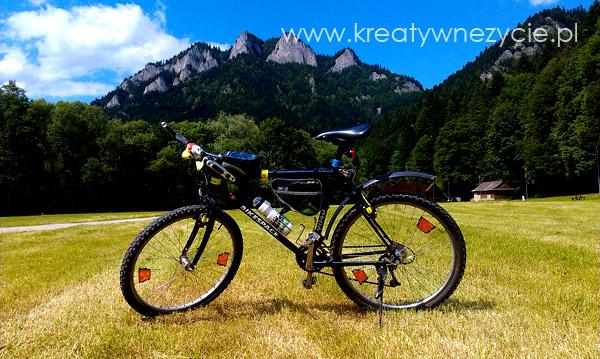 Trzy Korony nad rowerze