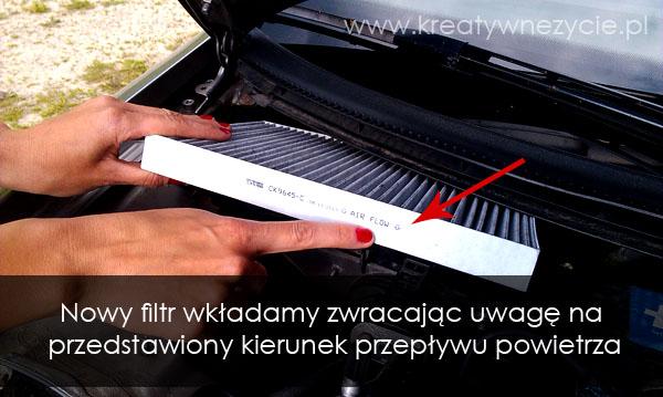 Filtr węglowy kabinowy audi a4
