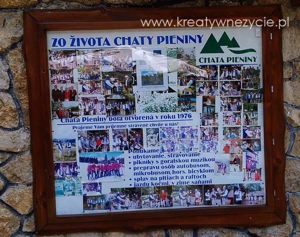 Chata Pieniny historia