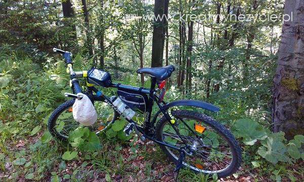 rowerem w pieninach