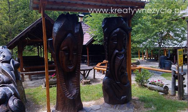 Rzeźby chata pieniny