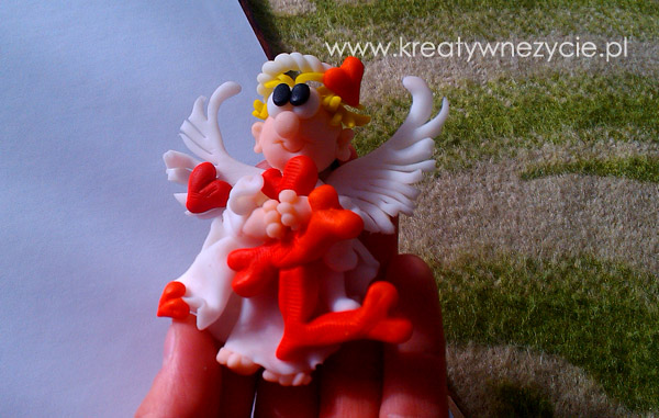 Angel polymer clay
