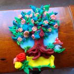 Oryginalny prezent ślubny – drzewko szczęścia