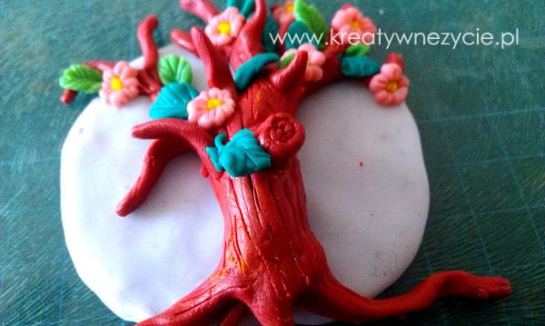 Drzewko szczęścia magnes