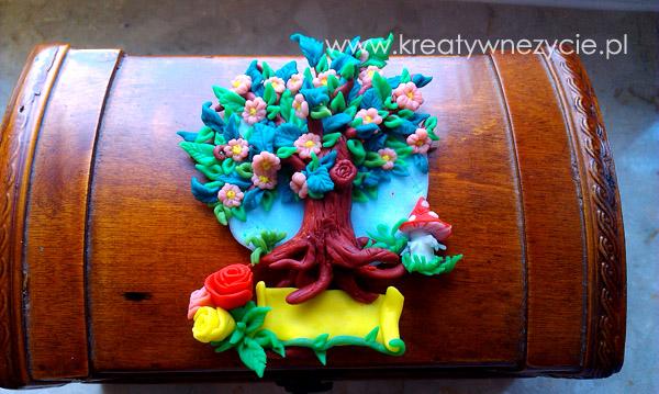 Drzewko z modeliny na ślub