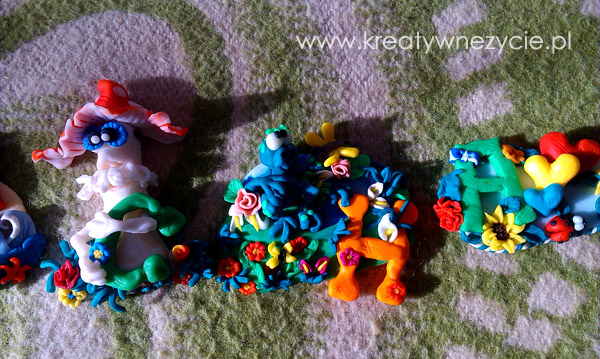 Animals polymer clay