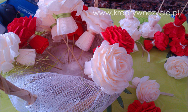 Róża krepa róże