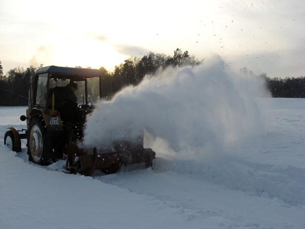 Dmuchawa do śniegu projekt
