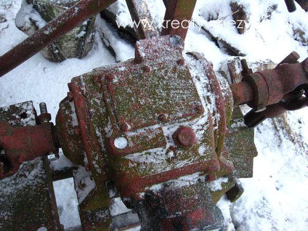 Wirnik dmuchawy do śniegu