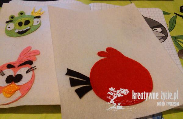 Angry Birds pokrowiec