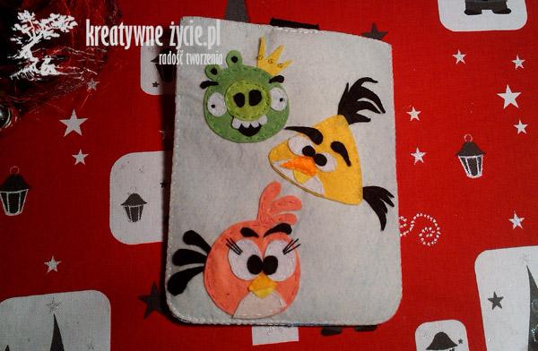 Angry Birds pokrowiec etui