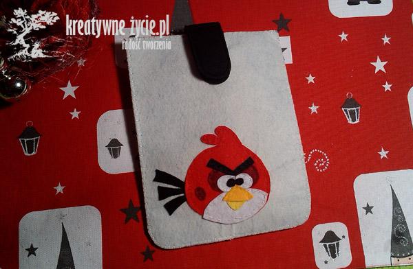 Angry Birds czerwony ptak etui
