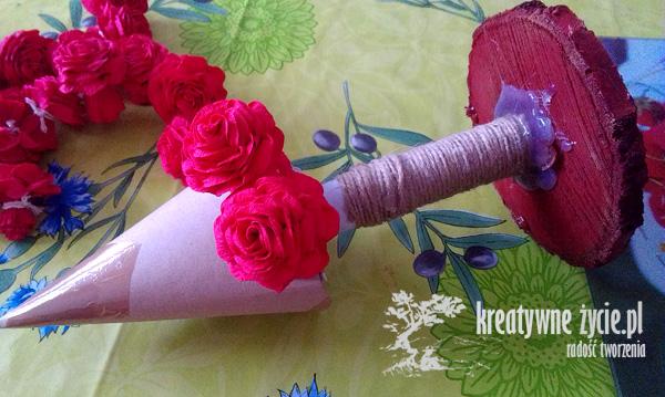 Choinka z róż poradnik