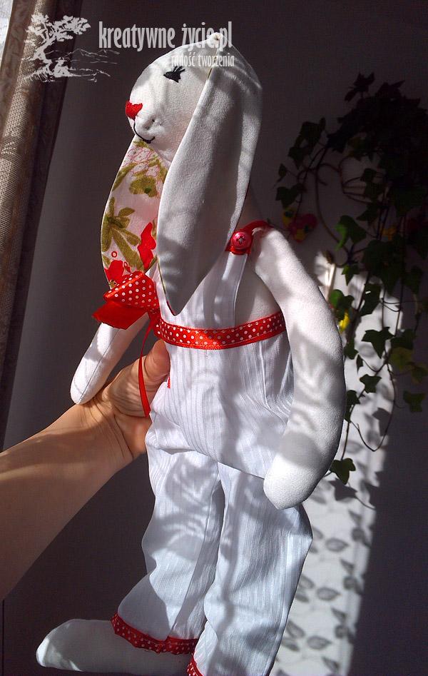 Królik Tilda dla dziewczynki