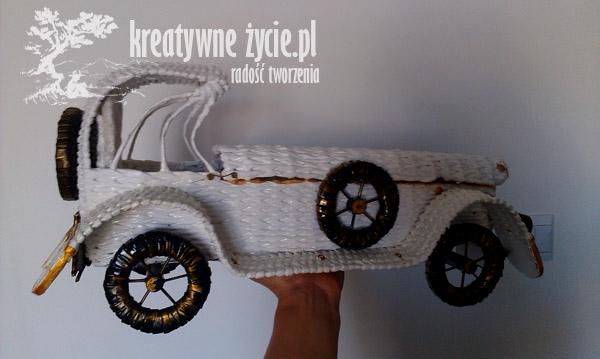 Auto z wikliny na ślub