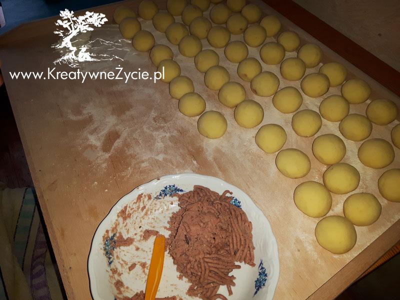 Przygotowanie - pyzy z mięsem