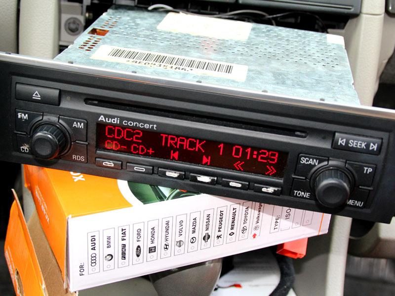Emulator zmieniarki płyt CD Audi