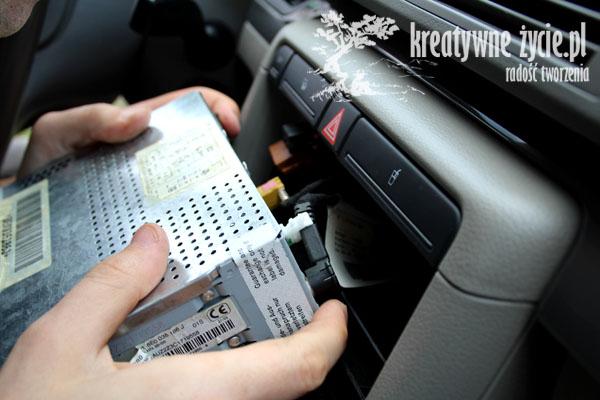 Audi jak wyjąć radio