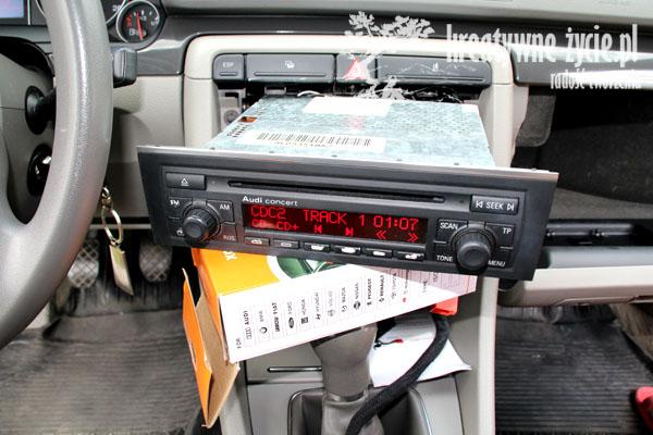 Emulator zmieniarki Audi A4
