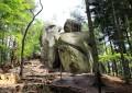 Rezerwat Prządki - skały