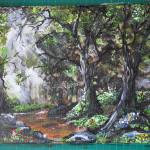 Obrazy malowane akrylami