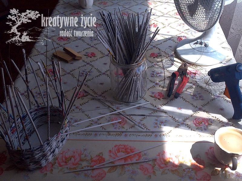 Wózek z wikliny jak zrobić