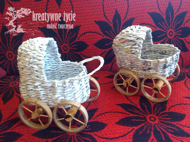 Wiklina papierowa - kurs wózek