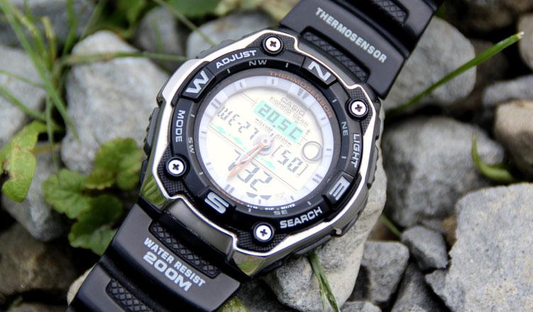 Casio Fishing Gear recenzja