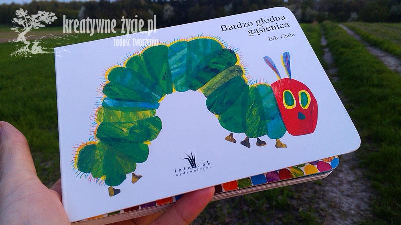 Głodna gąsienica - książka