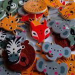 Recenzja zamówienia z Aliexpress – guziki zwierzęta