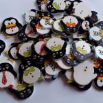 Guziki pingwiny z Aliexpress – recenzja