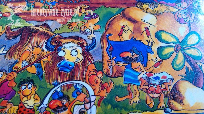 Puzzle Jaskiniowcy Trefl 600 części - moja recenzja