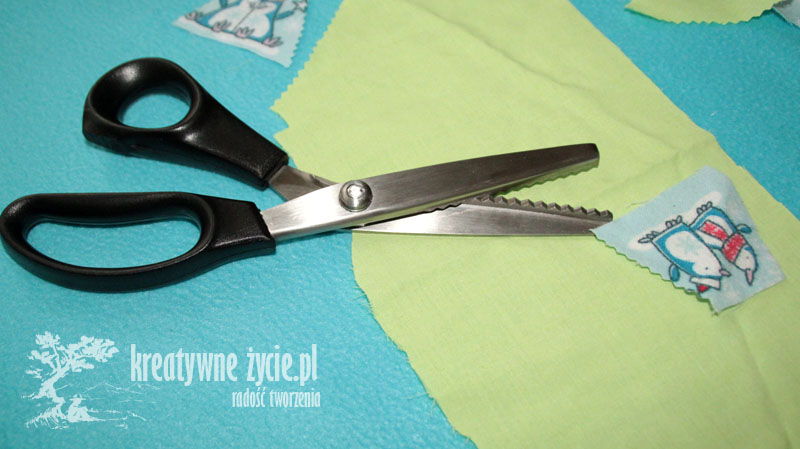 Nożyce krawieckie Zygzak
