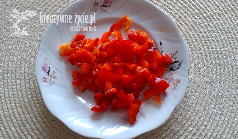 Składniki Calzone papryka