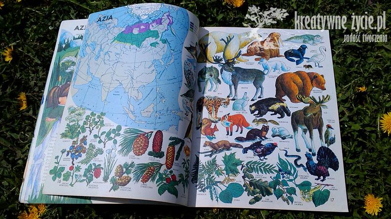 Świat wokół nas - Encyklopedyczny atlas przyrodniczo geograficzny dla dzieci