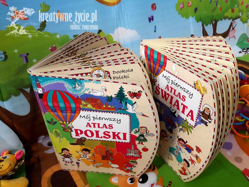 Atlas świata Polski Olesiejuk