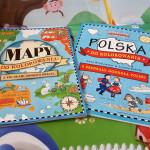 Mapy świata i Polski do kolorowania Olesiejuk – pomysł na prezent dla dziecka