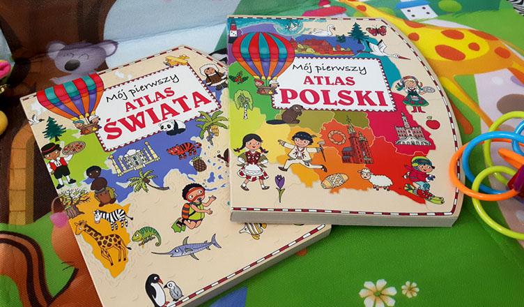 Mój pierwszy atlas Polski Świata Olesiejuk
